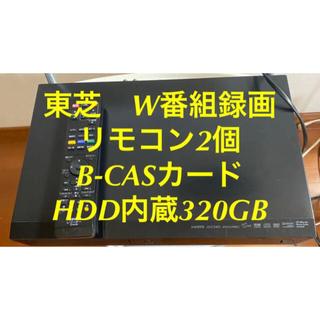 トウシバ(東芝)の東芝/REGZA ブルーレイ D-BZ510 HDD内蔵320GB(ブルーレイレコーダー)