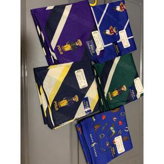 ラルフローレン(Ralph Lauren)のラルフローレン ハンカチ5枚(ハンカチ/ポケットチーフ)