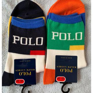ポロラルフローレン(POLO RALPH LAUREN)のラルフローレン 靴下 22〜24センチ 新品(靴下/タイツ)