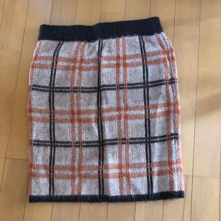アーヴェヴェ(a.v.v)のa.v.v タイト型スカート Lサイズ(ひざ丈スカート)