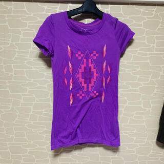Tシャツ レディース 紫