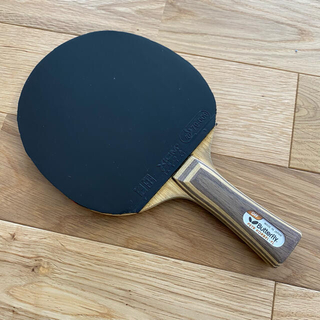 バタフライ(BUTTERFLY)の卓球ラケット Butterfly PETR KORBEL-FL OFF 黒蝶(卓球)