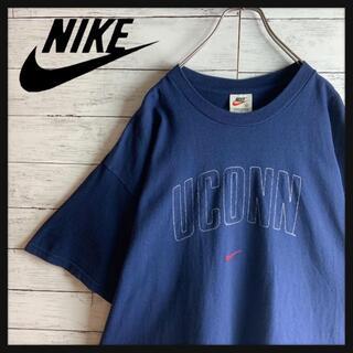 NIKE - 【USA製】希少 オールドナイキ センター刺繍入り半袖Tシャツ オーバーサイズ