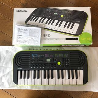 カシオ(CASIO)のCASIO SA-46 ミニキーボード MINI KEYBOARD(電子ピアノ)