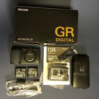 リコー(RICOH)のRICOH リコー コンパクトデジタルカメラ GR DIGITAL4 おまけ付き(コンパクトデジタルカメラ)