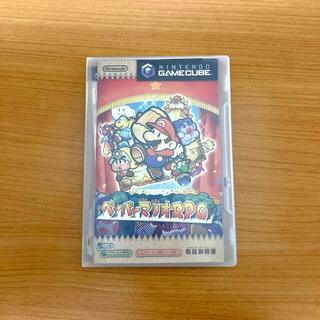 ニンテンドーゲームキューブ(ニンテンドーゲームキューブ)のゲームキューブ ペーパーマリオRPG(家庭用ゲームソフト)