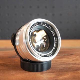 キョウセラ(京セラ)の【希少良品】Auto Yashinon 5.5cm f1.8 富岡光学製 (レンズ(単焦点))