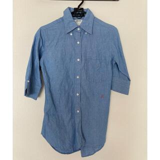 マディソンブルー(MADISONBLUE)の美品 MADISONBLUEマディソンブルー 定番シャツ(シャツ/ブラウス(長袖/七分))