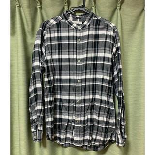 ベイフロー(BAYFLOW)のベイフロー ノーカラーチェックシャツ(シャツ)