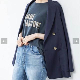 イエナ(IENA)の【新品同様】IENA ウールダブルブレストジャケット(テーラードジャケット)