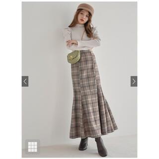 GRL - グレイル チェックマーメイドスカート