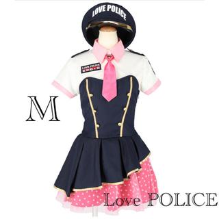 新品 エロカワ ラブリーミニスカポリス 警官 コスチューム コスプレ ハロウィン(衣装一式)