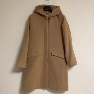 IENA - イエナ☆43000円優しいキャメル色のフード付コート