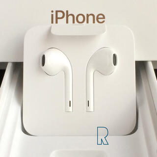 Apple - iPhoneXs付属 アップル純正イヤホン1点 Apple iPhoneイヤホン
