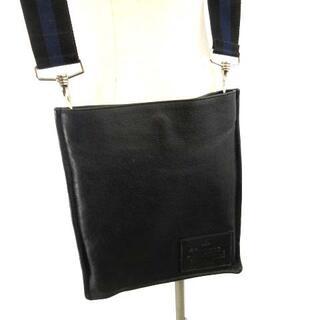 Vivienne Westwood - ヴィヴィアンウエストウッド 美品 レザーショルダーバッグ ロゴ 黒 ブラック