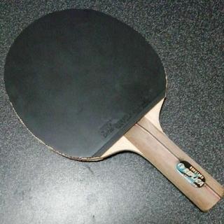 軽量 卓球ラケット KOKUTAKU レプリカオフェンシブ ラバー貼り後140g