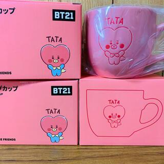 防弾少年団(BTS) - BTS BT21 防弾少年団 TATA タタ テテ マグカップ スープカップ