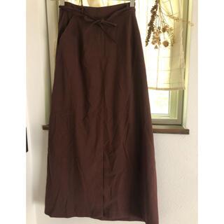 ユナイテッドアローズ(UNITED ARROWS)のスリットスカート(ロングスカート)