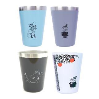 4個 MOOMIN CUP COFFEE TUMBLER BOOK タンブラー