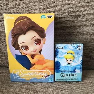Disney - 2体セット★ ベル フィギュア Qposket シンデレラ  ディズニー A