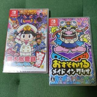 Nintendo Switch - 【新品未開封】桃太郎電鉄 & おすそわけるメイドインワリオ