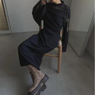 アメリヴィンテージ(Ameri VINTAGE)のAmeri vintage PIAO LIANG LACE DRESS  (ロングワンピース/マキシワンピース)