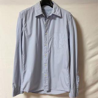 アメリカンイーグル(American Eagle)のアメリカンイーグル 長袖シャツ ブルー カジュアルシャツ メンズ(シャツ)