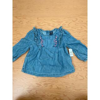 ベビーギャップ(babyGAP)のGAP デニムトップス(Tシャツ/カットソー)