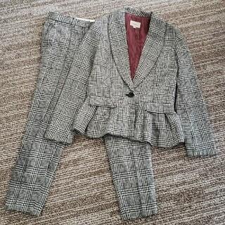 トゥデイフル(TODAYFUL)のTODAYFUL パンツスーツ 36(スーツ)