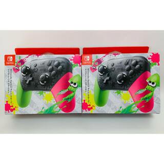 Nintendo Switch - 【新品】純正 Switch コントローラー スプラトゥーン 2個セット