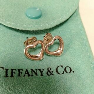 Tiffany & Co. - ティファニーオープンハートピアス(おまけ付き)