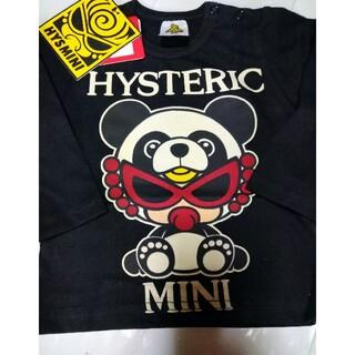 HYSTERIC MINI - 訳ありパンダ長袖Tシャツ