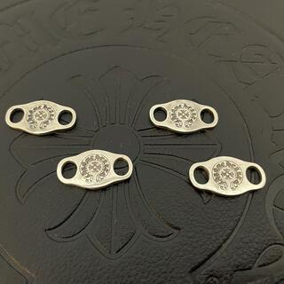 クロムハーツ(Chrome Hearts)の美品4個クロムハーツ シューレースディティールシルバー925 スニーカー ブレス(その他)