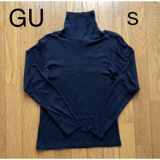 GU - GU タートルネック ブラック レディース