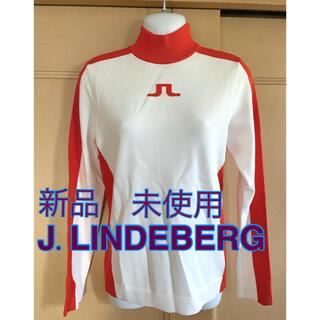 J.LINDEBERG - リンドバーグ レディースゴルフウェア 新品未使用 ニット セーター 防寒 冬物