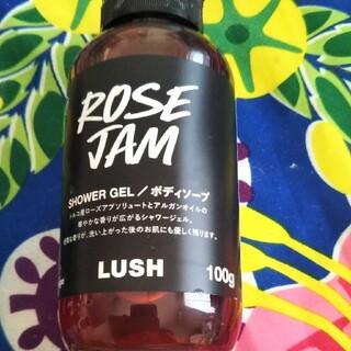 ラッシュ(LUSH)のLUSH ローズジャム 100g(ボディソープ/石鹸)