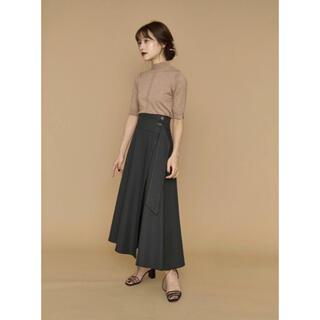 【新品】L'Or Irregular hem Wrap Skirt