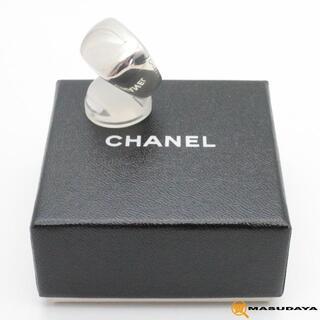 CHANEL - シャネルロゴシルバーリングSV925