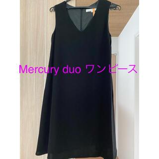 MERCURYDUO - Mercuryduo 美品 膝丈ワンピース