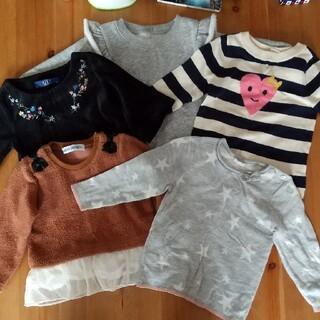 ベビーギャップ(babyGAP)の80 冬物 5着セット GAP AZUL H&M(ニット/セーター)