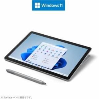 マイクロソフト(Microsoft)の Surface Go 3  + タイプカバー 2点セット(ノートPC)