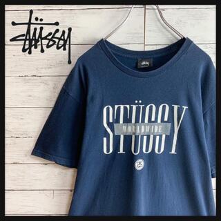 STUSSY - 【最高デザイン】メキシコ製 ステューシー ビッグロゴ入り半袖Tシャツ ストリート