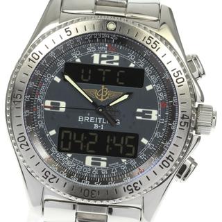 ブライトリング(BREITLING)の★箱付き ブライトリング B-1 デジアナ A68362 メンズ 【中古】(腕時計(アナログ))