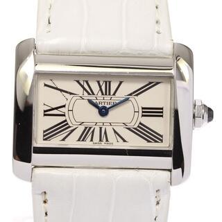 Cartier - カルティエ ミニタンクディバン  W6300255 レディース 【中古】