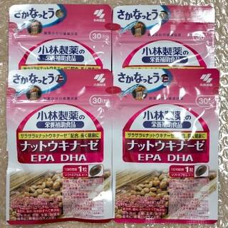 小林製薬 - 小林製薬 栄養補助食品 ナットウキナーゼ EPA DHA 30粒入 × 4袋