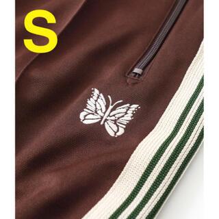 Needles - needles STUDIOUS別注 トラックパンツ ブラウン ストレート S