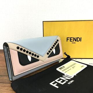 フェンディ(FENDI)の未使用品 FENDI 長財布 モンスター スタッズ 54(長財布)
