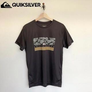 QUIKSILVER - ★良品 定4000位 Quiksilver Tシャツ ポリエステル ブラック M