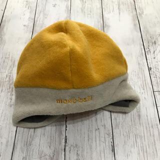 モンベル(mont bell)の美品 モンベル フリース帽子 キッズ(帽子)
