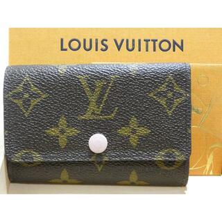 LOUIS VUITTON - 【良品】ルイヴィトン キーケース モノグラム ミュルティクレ 6 M61285